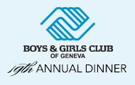 BGC Annual Dinner Banner