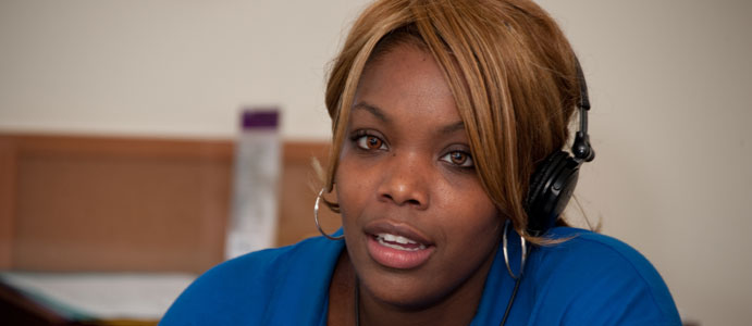 Woman Staff Member