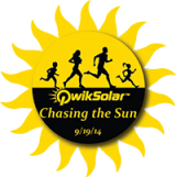 Chasing the Sun 5k Run Logo