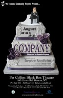"Seneca Community Players Presents: ""Company"" Poster"