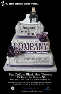 "Seneca Community Players Presents: ""Company"" Poster"