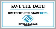 Boys & Girls Club - Save the Date